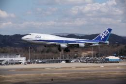 空旅さんが、福島空港で撮影した全日空 747-481(D)の航空フォト(飛行機 写真・画像)