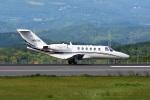 masatakaさんが、鹿児島空港で撮影したオートパンサー 525A Citation CJ2の航空フォト(写真)