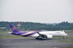 よんすけさんが、成田国際空港で撮影したタイ国際航空 A350-941XWBの航空フォト(写真)