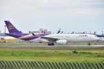 よしポンさんが、成田国際空港で撮影したタイ国際航空 A330-343Xの航空フォト(写真)