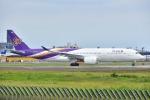 よしポンさんが、成田国際空港で撮影したタイ国際航空 A350-941XWBの航空フォト(写真)