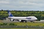 JA946さんが、成田国際空港で撮影したポーラーエアカーゴ 747-46NF/SCDの航空フォト(写真)