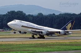 EarthScapeさんが、チューリッヒ空港で撮影したシンガポール航空 747-412の航空フォト(写真)