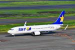 beimax55さんが、羽田空港で撮影したスカイマーク 737-8ALの航空フォト(写真)
