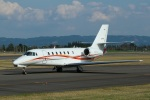 garrettさんが、鹿児島空港で撮影した朝日航洋 680 Citation Sovereignの航空フォト(写真)