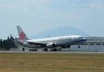 garrettさんが、鹿児島空港で撮影したチャイナエアライン 737-809の航空フォト(写真)