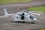 じーのさんさんが、八丈島空港で撮影した海上自衛隊 MCH-101の航空フォト(写真)