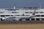 garrettさんが、鹿児島空港で撮影したジェイ・エア ERJ-190-100(ERJ-190STD)の航空フォト(写真)
