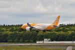 T.Sazenさんが、成田国際空港で撮影したスクート 787-8 Dreamlinerの航空フォト(飛行機 写真・画像)