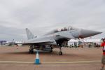 ちゃぽんさんが、フェアフォード空軍基地で撮影したイギリス空軍 EF-2000 Typhoon T1の航空フォト(写真)