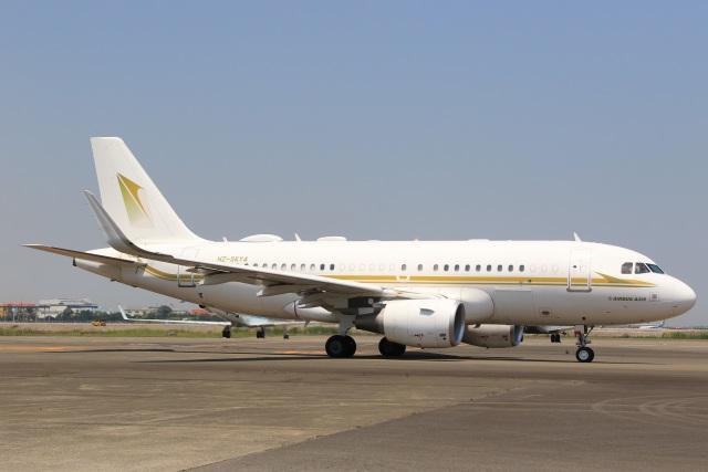 航空フォト:HZ-SKY4 スカイ・プライム A319