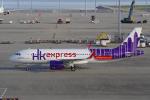 yabyanさんが、中部国際空港で撮影した香港エクスプレス A320-271Nの航空フォト(飛行機 写真・画像)