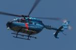 木人さんが、成田国際空港で撮影した千葉県警察 BK117C-2の航空フォト(写真)