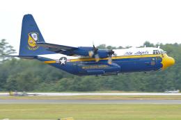 Tomo-Papaさんが、オシアナ海軍航空基地アポロソーセックフィールドで撮影したアメリカ海兵隊 C-130T Herculesの航空フォト(飛行機 写真・画像)