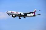 まいけるさんが、スワンナプーム国際空港で撮影したカタール航空カーゴ 777-FDZの航空フォト(写真)