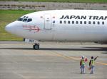おっつんさんが、小松空港で撮影した日本トランスオーシャン航空 737-446の航空フォト(飛行機 写真・画像)