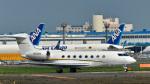パンダさんが、成田国際空港で撮影したウェルズ・ファーゴ・バンク・ノースウェスト Gulfstream G650 (G-VI)の航空フォト(写真)
