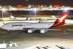 あしゅーさんが、羽田空港で撮影したカンタス航空 747-48Eの航空フォト(写真)