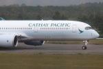 funi9280さんが、新千歳空港で撮影したキャセイパシフィック航空 A350-941XWBの航空フォト(飛行機 写真・画像)