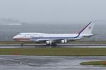 たまさんが、羽田空港で撮影した大韓民国空軍 747-4B5の航空フォト(写真)