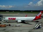 cornicheさんが、ミラノ・マルペンサ空港で撮影したTAM航空 767-316/ERの航空フォト(写真)