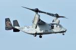 うめやしきさんが、厚木飛行場で撮影したアメリカ海兵隊 MV-22Bの航空フォト(飛行機 写真・画像)