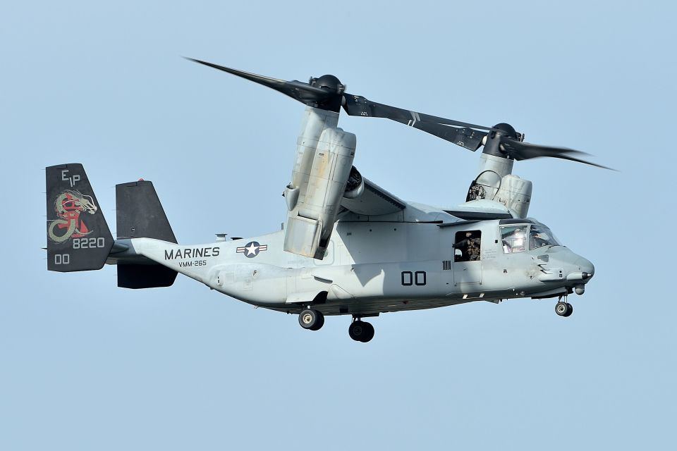 うめやしきさんのアメリカ海兵隊 Bell Boeing V-22 (168220) 航空フォト