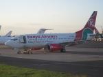 マッペケさんが、ジョモ・ケニヤッタ国際空港で撮影したケニア航空 737-7U8の航空フォト(写真)