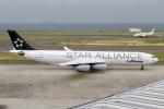 rjジジィさんが、中部国際空港で撮影したルフトハンザドイツ航空 A340-313Xの航空フォト(写真)