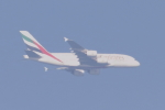 多楽さんが、茨城空港で撮影したエミレーツ航空 A380-861の航空フォト(写真)