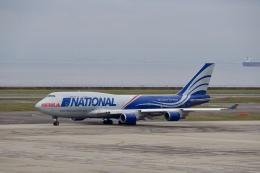 飛行機ゆうちゃんさんが、中部国際空港で撮影したナショナル・エア・カーゴ 747-428(BCF)の航空フォト(飛行機 写真・画像)