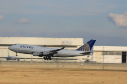 kikiさんが、成田国際空港で撮影したユナイテッド航空 747-451の航空フォト(飛行機 写真・画像)