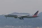 kikiさんが、香港国際空港で撮影したアメリカン航空 777-323/ERの航空フォト(写真)