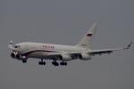 飛行機ゆうちゃんさんが、羽田空港で撮影したロシア航空 Il-96-300の航空フォト(写真)