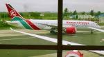マッペケさんが、ジョモ・ケニヤッタ国際空港で撮影したケニア航空 787-8 Dreamlinerの航空フォト(写真)