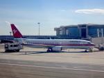 cornicheさんが、ミラノ・マルペンサ空港で撮影したエア・イタリー 737-86Nの航空フォト(写真)