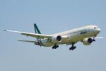 ちゃぽんさんが、成田国際空港で撮影したアリタリア航空 777-3Q8/ERの航空フォト(写真)