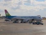 マッペケさんが、イヴァト空港で撮影したエアセイシェル A320-232の航空フォト(写真)