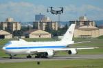 cassiopeiaさんが、横田基地で撮影したアメリカ空軍 E-4B (747-200B)の航空フォト(写真)