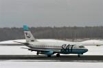 にしやんさんが、新千歳空港で撮影したサハリン航空 737-2J8/Advの航空フォト(写真)