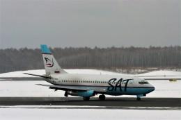 にしやんさんが、新千歳空港で撮影したサハリン航空 737-2J8/Advの航空フォト(飛行機 写真・画像)