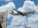 チャッピー・シミズさんが、宮古空港で撮影した日本トランスオーシャン航空 737-8Q3の航空フォト(写真)