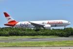 よしポンさんが、成田国際空港で撮影したオーストリア航空 777-2Q8/ERの航空フォト(写真)