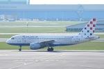 Jyunpei Ohyamaさんが、アムステルダム・スキポール国際空港で撮影したクロアチア航空 A319-112の航空フォト(写真)