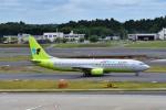 T.Sazenさんが、成田国際空港で撮影したジンエアー 737-86Nの航空フォト(写真)