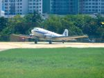 まいけるさんが、ペナン国際空港で撮影したBell Geospace Aviation DC-3Cの航空フォト(写真)