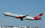 garrettさんが、成田国際空港で撮影したヴァージン・アトランティック航空 A340-313の航空フォト(写真)