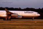 EarthScapeさんが、フランクフルト国際空港で撮影したルフトハンザドイツ航空 A340-211の航空フォト(写真)