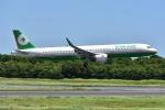 よしポンさんが、成田国際空港で撮影したエバー航空 A321-211の航空フォト(写真)