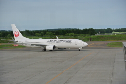 鱚楽鯛遊さんが、帯広空港で撮影したJALエクスプレス 737-846の航空フォト(飛行機 写真・画像)